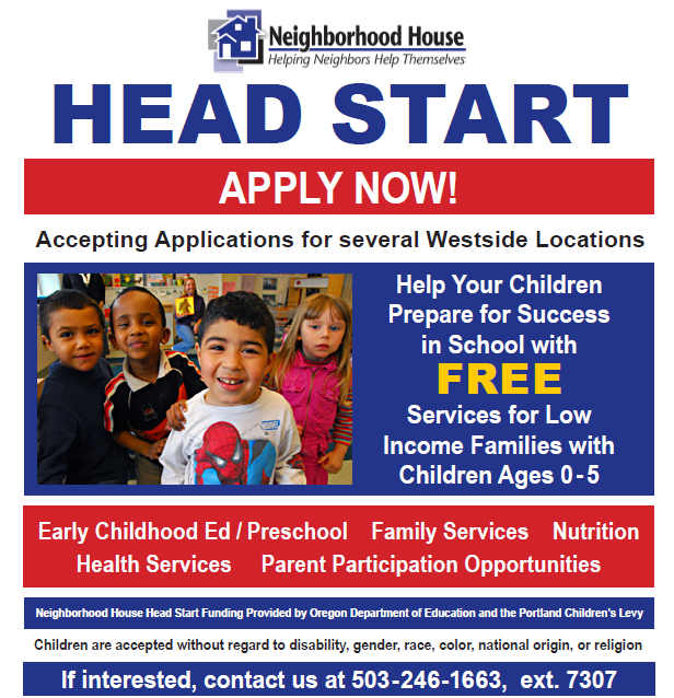 Head Start Openings Are Available For 2018 19 School Year Friends