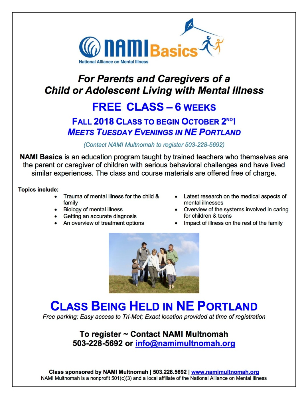NAMI_Basics_Fall_2018_class_flyer