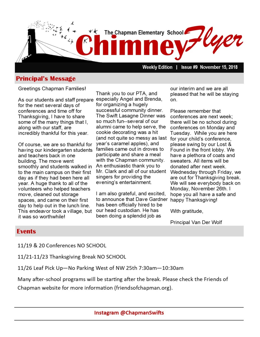 Chinmey Flyer 11-14-18